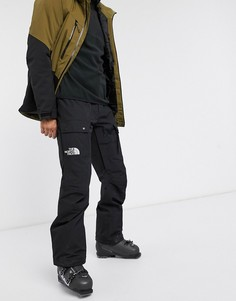 Черные лыжные брюки-карго The North Face-Черный