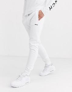 Белые джоггеры слим от комплекта Bench-Белый