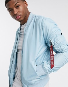 Нейлоновая куртка с карманом MA-1 от Alpha Industries-Синий