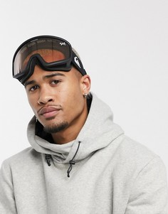Черные горнолыжные очки Quiksilver Browdy-Черный