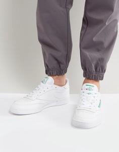 Белые кроссовки Reebok Club c 85 ar0456-Белый