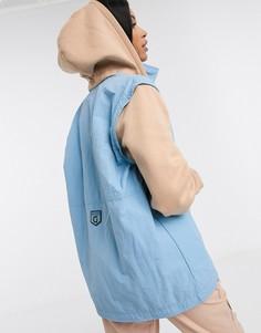 Жилет с отстегивающимся капюшоном Reebok x Gigi-Синий