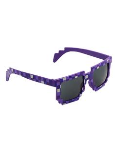 Очки детские Pixel Crew пиксельные фиолетовые
