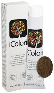 Краска для волос KayPro iColori 7/03 русый натуральный теплый 90 мл