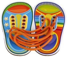 Шнуровка цветная Сибирский Сувенир «Башмаки»