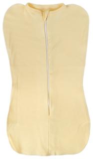 BAMBOLA Трикотажная пеленка кокон (цвет: желтый) 455 b