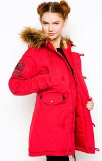 Куртка женская Alpha Industries 103005 красная S