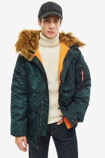Куртка мужская Alpha Industries 103141 зеленая S