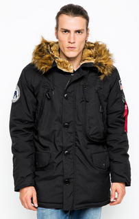 Куртка мужская Alpha Industries 123144 черная S