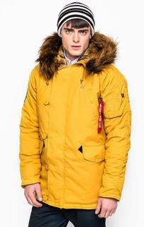 Куртка мужская Alpha Industries 193128 желтая XL