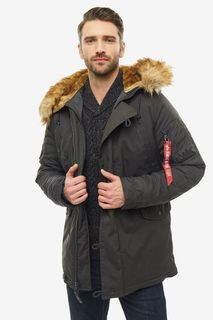 Куртка мужская Alpha Industries 193128 серая L