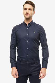 Рубашка мужская Lacoste CH204141LT синяя 43 FR