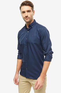 Рубашка мужская Lacoste CH9623R423T синяя 45 FR
