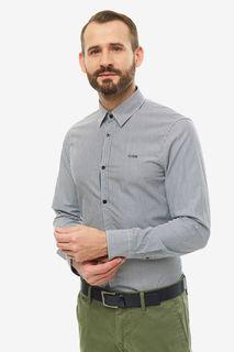 Рубашка мужская Guess M94H20-WC3T0-SDD7 синяя XL