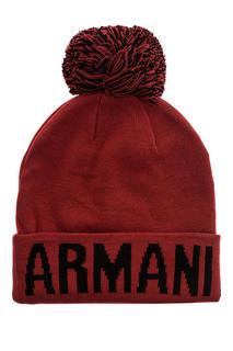 Шапка мужская Armani Exchange 6GZ42P красный ONE SIZE