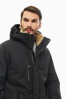 Куртка мужская Luhta 434519359LV 990 черная 54 EU