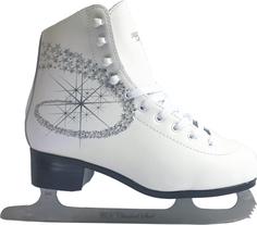 Фигурные коньки PRINCESS LUX leather 100% (белый), Белый (27) Спортивная Коллекция