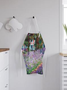JoyArty Фартук кухонный регулируемый «Сад художника», универсальный размер