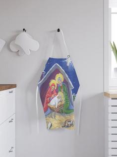 JoyArty Фартук кухонный регулируемый «Рождество Христово», универсальный размер