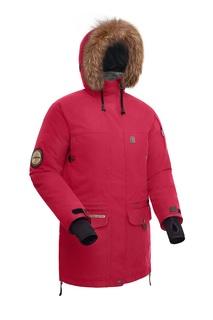 Куртка женская Bask Shl Onega Lady, бордовая, 44 RU