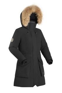 Куртка женская Bask Vishera, черная, 44 RU