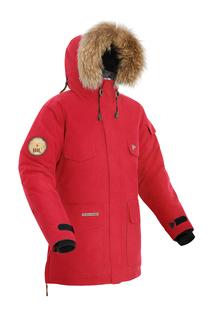 Куртка мужская Bask Taimyr, красная, 44 RU