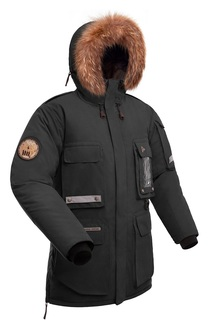 Куртка мужская Bask Yamal, черная, 48 RU