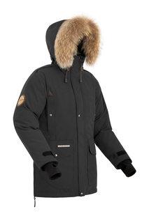 Куртка мужская Bask Putorana Hard, черная, 42 RU
