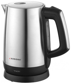 Чайник электрический Aurora AU 3513 Black/Silver