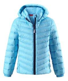 Куртка Reima пуховая для девочки Fern голубая р.122