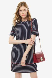 Платье женское Tommy Hilfiger WW0WW25328 503 синее 8 US