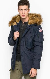 Куртка мужская Alpha Industries 123144 синяя L