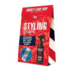 Набор Johnnys Chop Shop Файбер для стайлинга + Текстурирующий солевой спрей