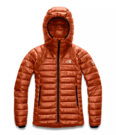 Куртка женская The North Face Summit L3 Down Hood, picante red, S INT