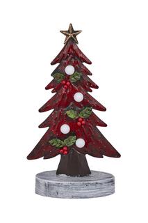 Скульптура Елка красная DUE ESSE CHRISTMAS