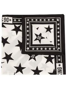 Dolce & Gabbana платок с принтом DG Star