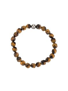 Nialaya Jewelry браслет из граненых бусин