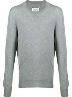 Maison Margiela пуловер с нашивками Décortiqué