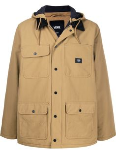 Vans куртка с капюшоном и карманами