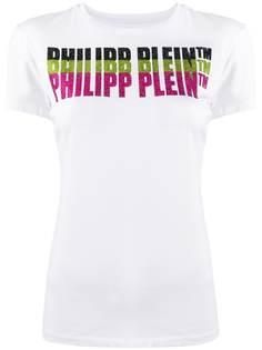 Philipp Plein декорированная футболка с короткими рукавами и логотипом