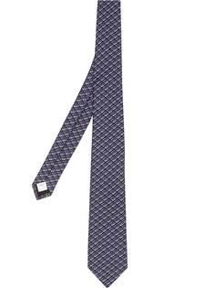 Burberry галстук с логотипом
