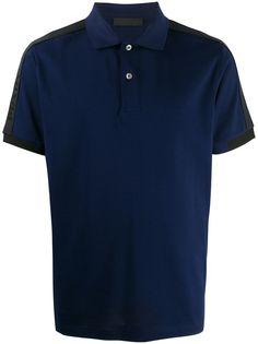 Prada рубашка-поло с логотипом