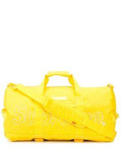 Supreme дорожная сумка с логотипом