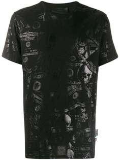 Philipp Plein футболка с принтом