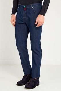 Укороченные джинсы Kiton