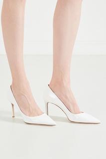 Белые туфли Prada
