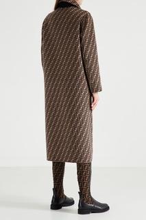 Двустороннее шерстяное пальто Fendi