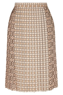Плиссированная клетчатая юбка Piper Burberry