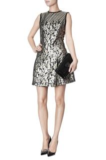 Мини-платье с принтом Victoria Beckham