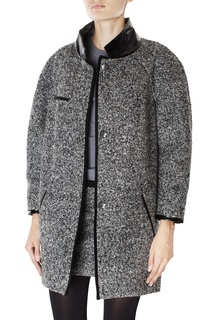 Пальто из хлопка и шерсти Isabel Marant